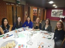 Joint Geography Society dinner